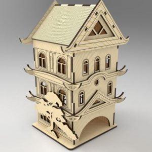 чайный домик макет
