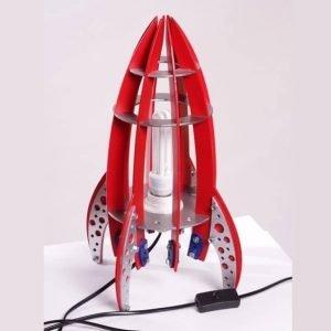 Макет светильника ракеты