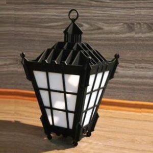 Векторный макет фонаря