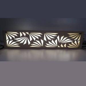 Макет декоративного светильника