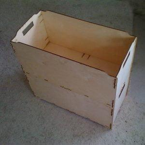 Макет коробки - лотка