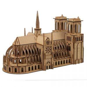 Макет собора Нотр Дам