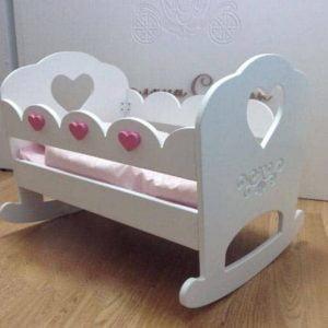 кроватка качалка для кукол