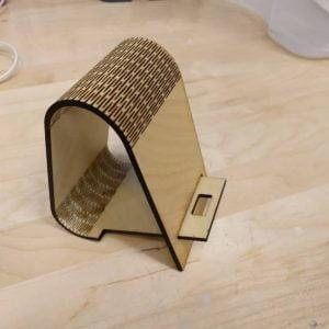 Макет подставки для телефона