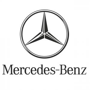 Векторный логотип Mercedes Benz