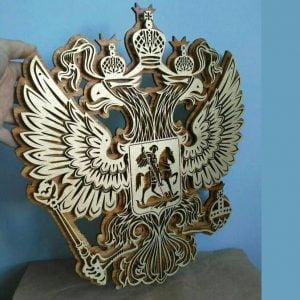 Макет герба РФ