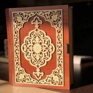 Декоративная коробка в форме книги