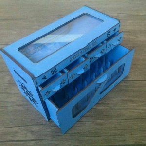 Коробка-органайзер для ниток