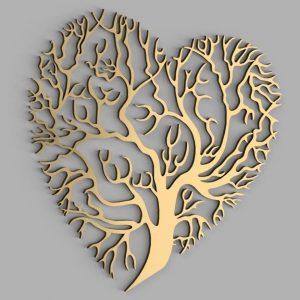 Макет панно дерево
