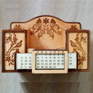 Макет органайзера с календарём
