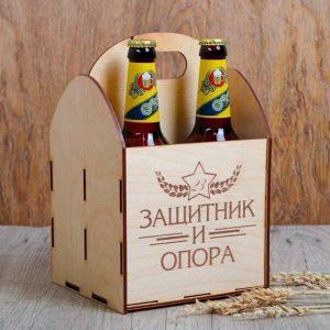 Макет ящика под пиво