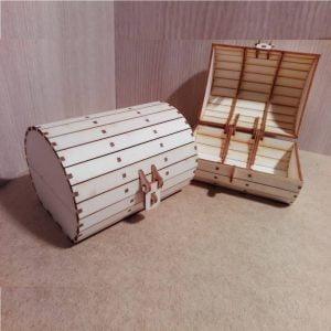 Макет коробки - бочки