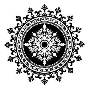 Файл круглого орнамента