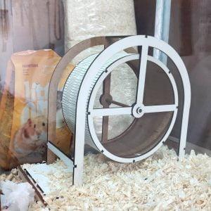 Макет колеса для хомяка