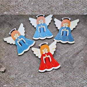 Макет ангелов на ёлку