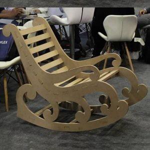 Макет кресла качалки