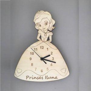 Макет часов принцесса