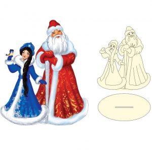 Макет Деда Мороза и Снегурочки