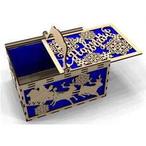Макет подарочной коробки