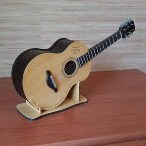 Макет копилки гитары
