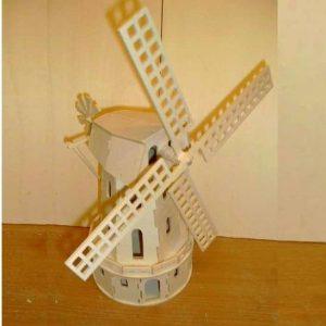 Макет мельницы