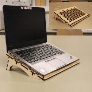 Макет подставки для ноутбука