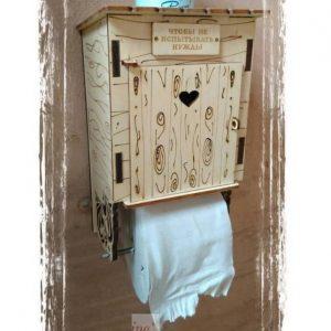 Макет держателя туалетной бумаги