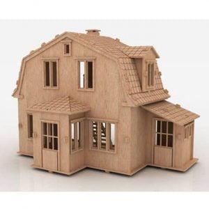 Макет кукольного дома 7