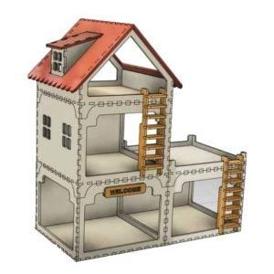 Макет кукольного дома 4
