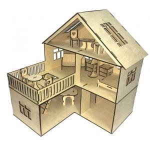 Макет кукольного дома 6