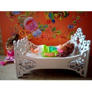 Макет кроватки для куклы