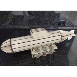 Макет мини бара подводной лодки