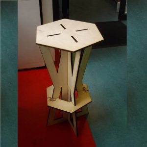 Макет барного стула