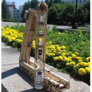 Макет ракетного комплекса Тополь