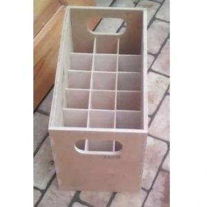 Макет ящика для бутылок