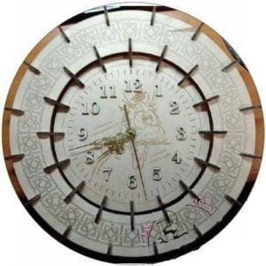 Макет круглых часов