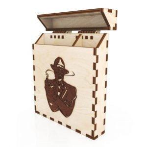 Макет коробки для сигарет