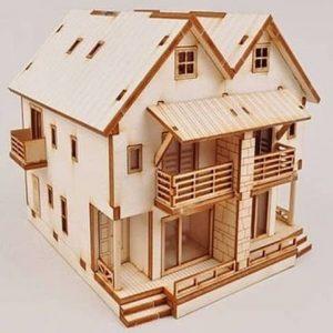 Макет игрушечного дома