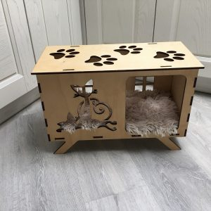 Макет домика для кошек и собак