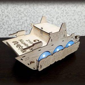 Макет подставки корабля для пива