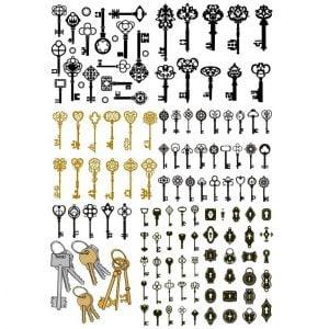 Макеты ключей и замков