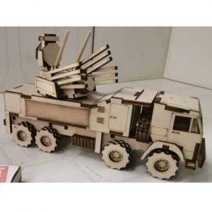 Макет военного автомобиля