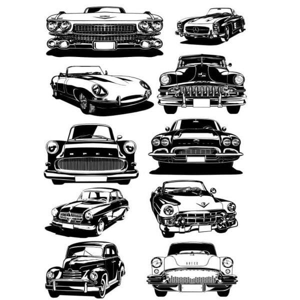Автомобиль векторный рисунок