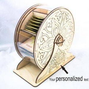 Чайное колесо макет