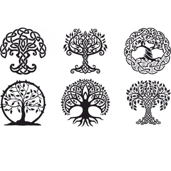Дерево векторный рисунок
