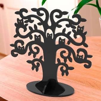 Макет дерева для бижутерии