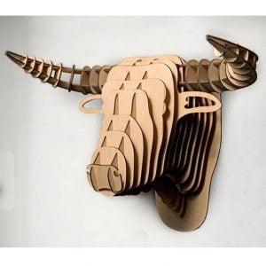 Макет головы быка