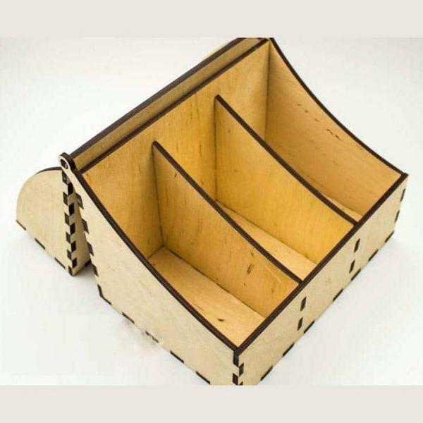 Коробка с крышкой макет