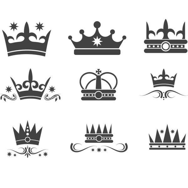Корона векторное изображение