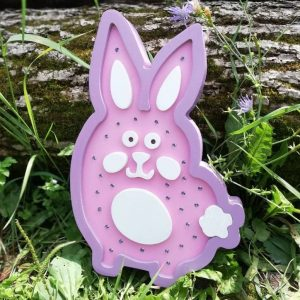 Ночник кролик макет